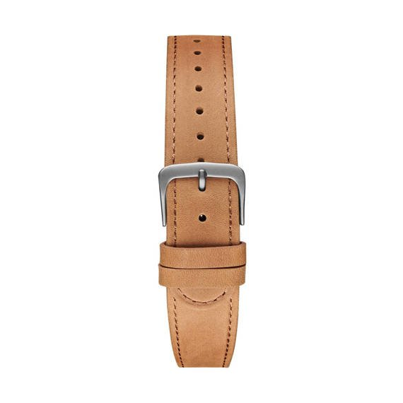 Pasek Meller Camel Grey Leather