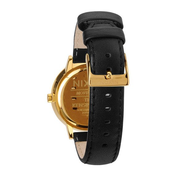 zegarek damski nixon kensington leather gold